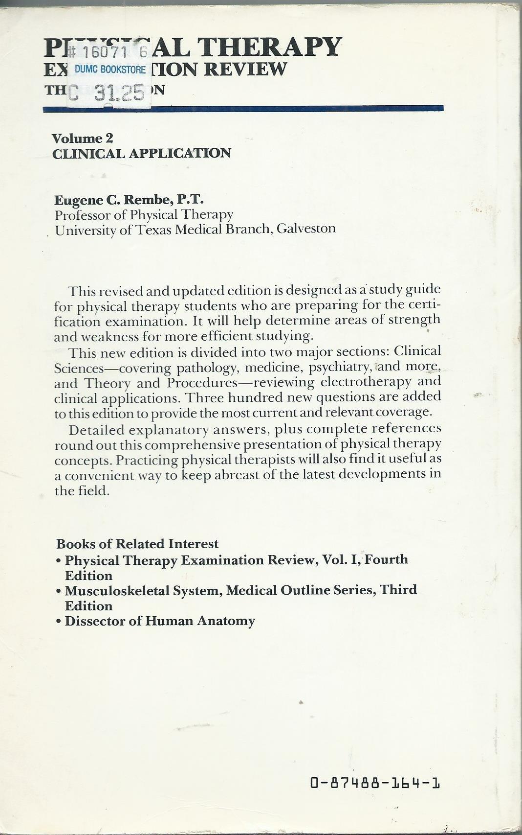 Books on physical therapy - Books On Physical Therapy 27
