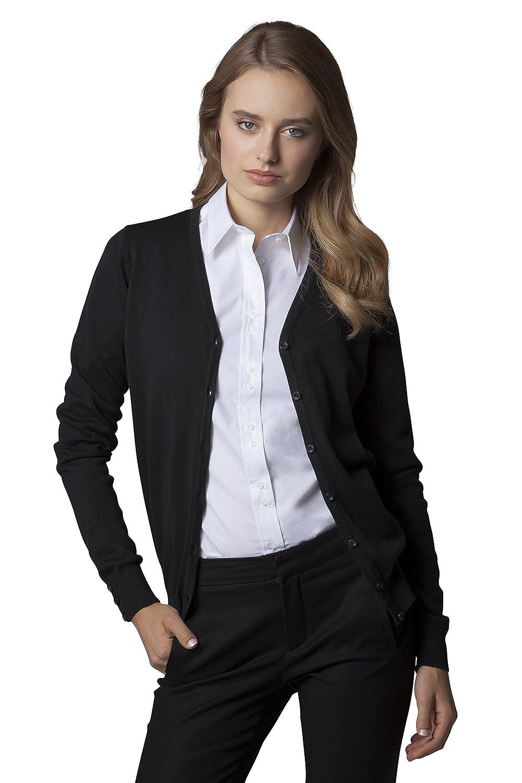 KUSTOM KIT Womens Arundel V Neck Cardigan Black or Navy//Size UK 6 UK 20