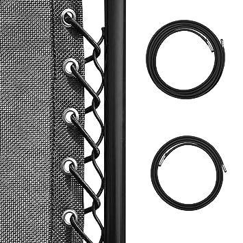 Homgaty - Conjunto de 8 Cordones elásticos universales de ...