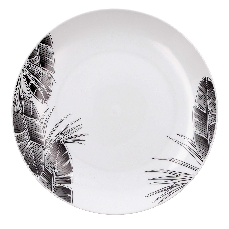Amazon.com: Bidasoa Tropiko - Vajilla de porcelana: Home ...