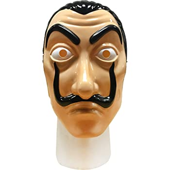Official Mask FAZ Group Money Heist - La Casa De Papel Mask Realistic Movie Prop Face Mask | Salvador Dali