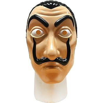 Official Mask FAZ Group Money Heist - La Casa De Papel Mask Realistic Movie Prop Face Mask | Salvador Dali