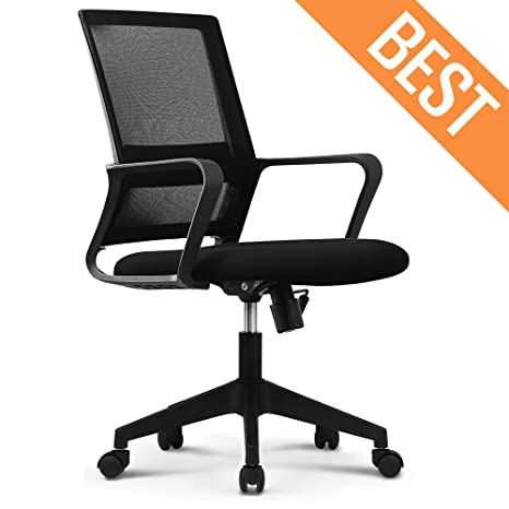 Outstanding Neo Chair Office Chair Computer Desk Chair Gaming Bulk Business Ergonomic Mid Back Cushion Lumbar Support With Wheels Comfortable Black Mesh Racing Evergreenethics Interior Chair Design Evergreenethicsorg