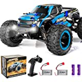 PHYWESS RC Cars Remote Control Car for Boys 2.4 GHZ High Speed Racing Car, 1:16 RC Trucks 4x4 Offroad with Headlights…