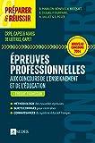 Préparer et réussir les épreuves professionnelles aux concours de l'enseignement et de l'éducation: CRPE, CAPES AGREG DE LETTRES, CAPET