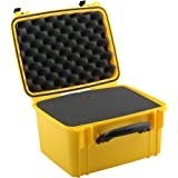 Seahorse SE-540F Waterproof Protective Hardcase with Foam (Yellow)