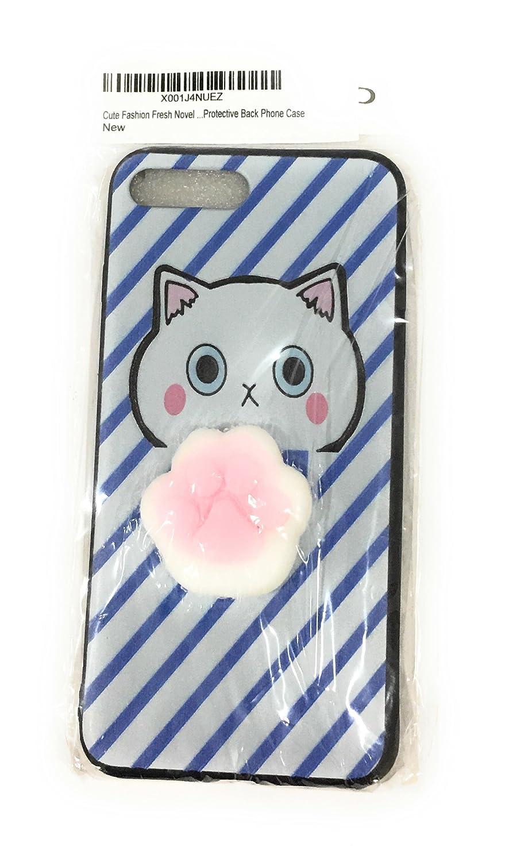 reputable site d387e 8f78c Amazon.com: Cute Fashion Fresh Novel Squishy Cat Paw for iPhone 6 ...