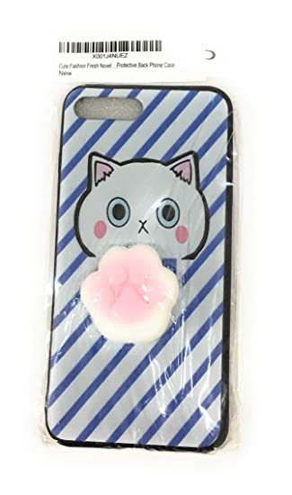 a847da35f5c60f Image Unavailable. Image not available for. Color: Cute Fashion Fresh Novel Squishy  Cat Paw for iPhone 6 Case, Lovely 3D Soft Silicone
