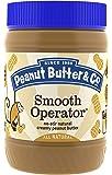 Peanut Butter & Co. Non-GMO, Gluten Free, Vegan Peanut Butter, Smooth Operator, 16-Ounce Jar