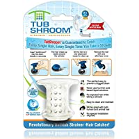 TubShroom The Revolutionary Tub Drain Protector Hair