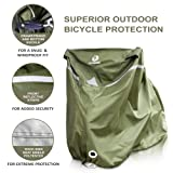 YardStash Bicycle Cover XL: Extra Large Size for