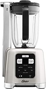 Oster BLSTAB-CB0-000 Blender with FoodSaver Vacuum Sealing System, Brushed Nickel