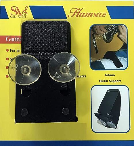 Gitano Ergoplay con ventosa. Soporte para guitarra clásica y ...