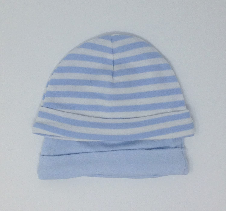 Cappellino Cuffia con Nodo Cuore BIANCONERO Taglia 0-6 Mesi Zigozago