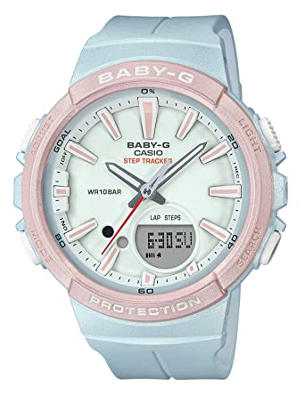 4be7a0711cd6 Amazon.com: CASIO BABY-G FOR RUNNING SERIES BGS-100SC-2AJF Womens JAPAN  IMPORT: Watches