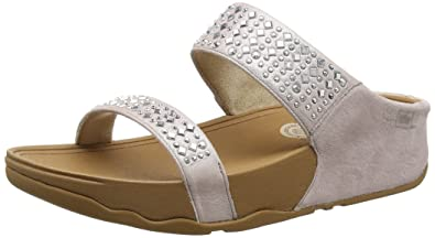 5281604985fb FitFlop Women s Novy Slide Sandal Nude 5 M US