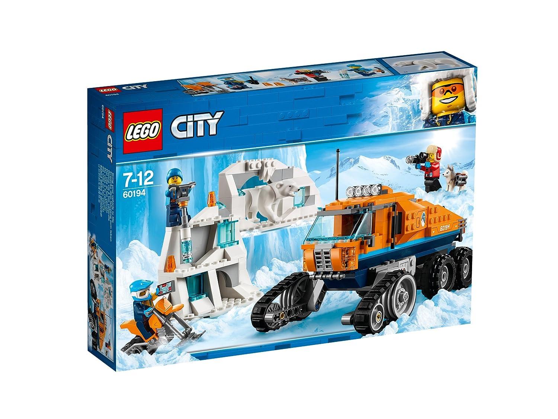 LEGO City - Le véhicule à chenilles d'exploration - 60194 - Jeu de Construction