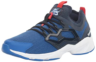 38f572939 Reebok Men s Fury Adapt uc Fashion Sneaker Awesome Blue Collegiate  Navy White Primal
