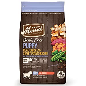 Merrick Grain Free Puppy Recipe Dry Dog Food
