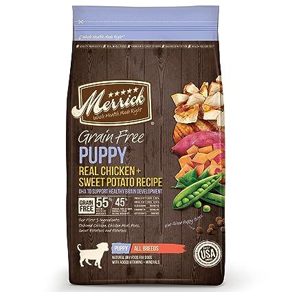 Amazon merrick grain free puppy real chicken sweet potato dry merrick grain free puppy real chicken sweet potato dry dog food forumfinder Gallery