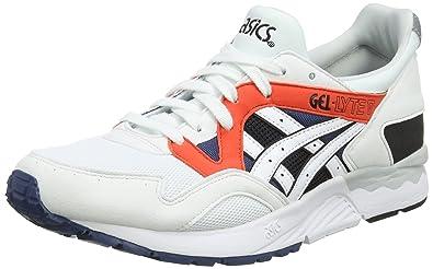 online store b0e09 5b35e ASICS Men s Gel-Lyte V Running Shoes Glacier Grigio Cream White (White