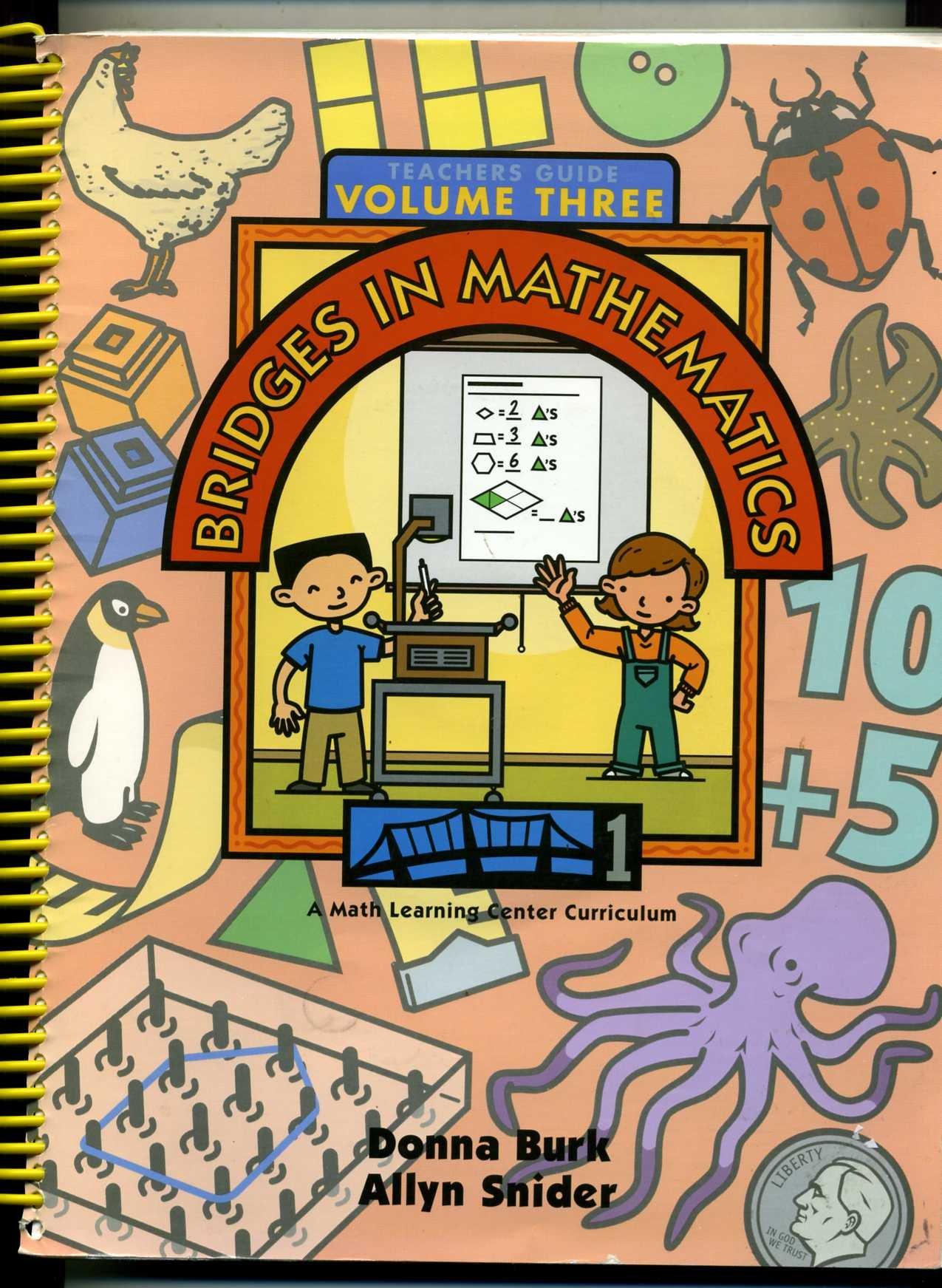 Bridges In Mathematics, Grade 1, Teachers Guide (Math