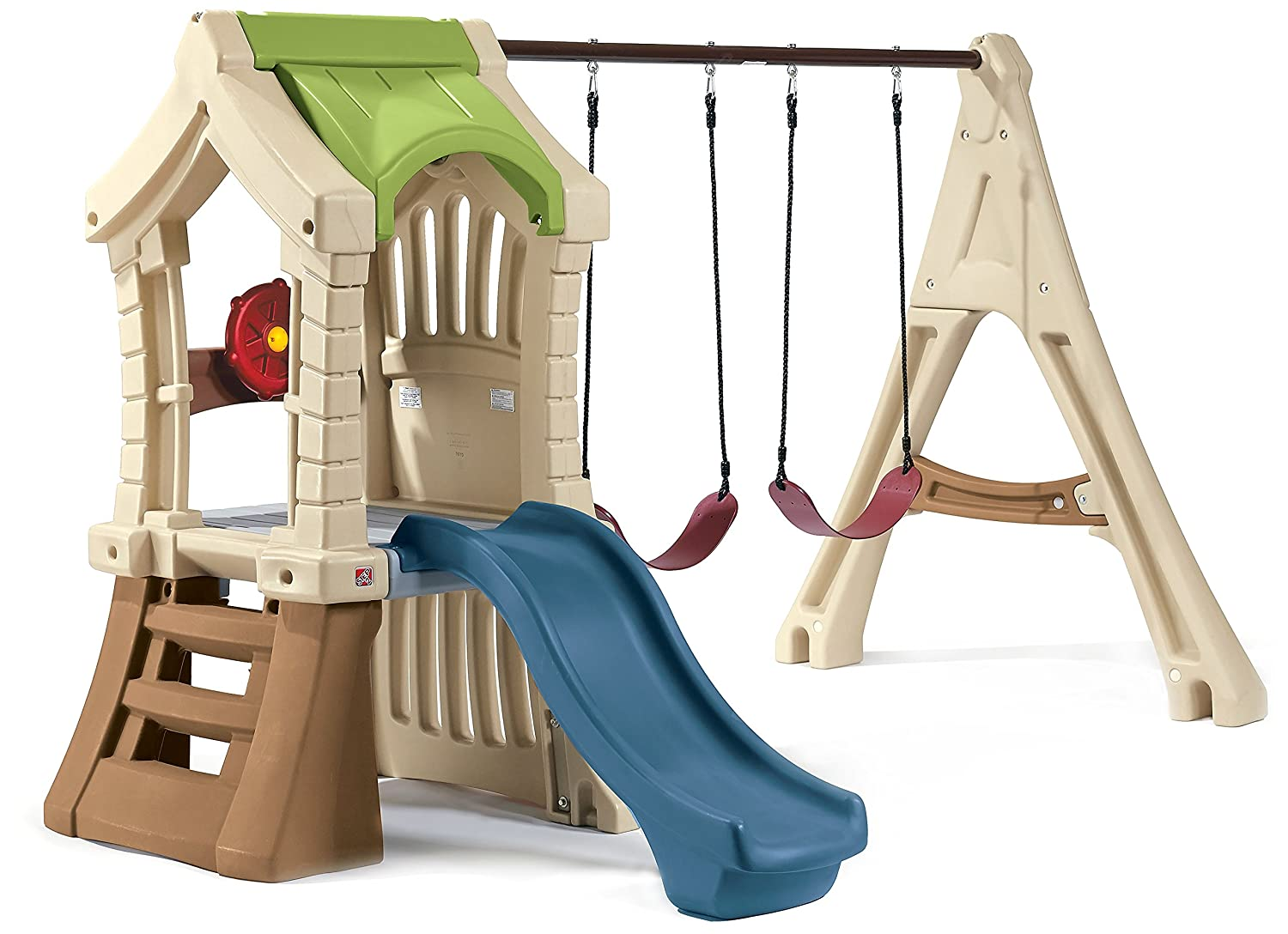 Amazon.com: Step2 Play Up Jungle Gym and Kids Swing Set: Toys & Games