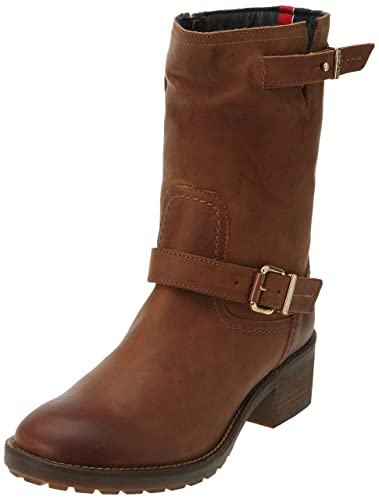 wholesale dealer a6644 188d6 Tommy Hilfiger WHITNEY 4A, Damen Halbschaft Stiefel, Braun ...