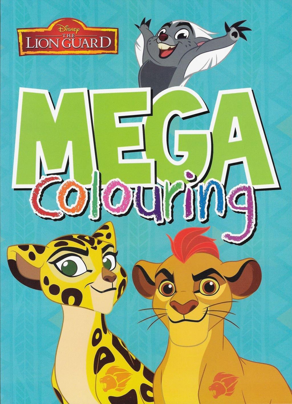 Disney Junior: Der Löwe Guard: Mega Malbuch: Amazon.de: Küche & Haushalt