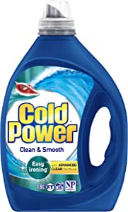 Cold Power Advanced Clean, Clean and Smooth, Liquid Laundry Detergent, 1.8 Litres, 36 washloads