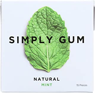 product image for Simply Gum All Natural Gum - Mint - Case of 12 - 15 Count