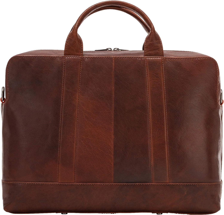 Nuvola Pelle Mens Laptop Bag Business Leather Elegant