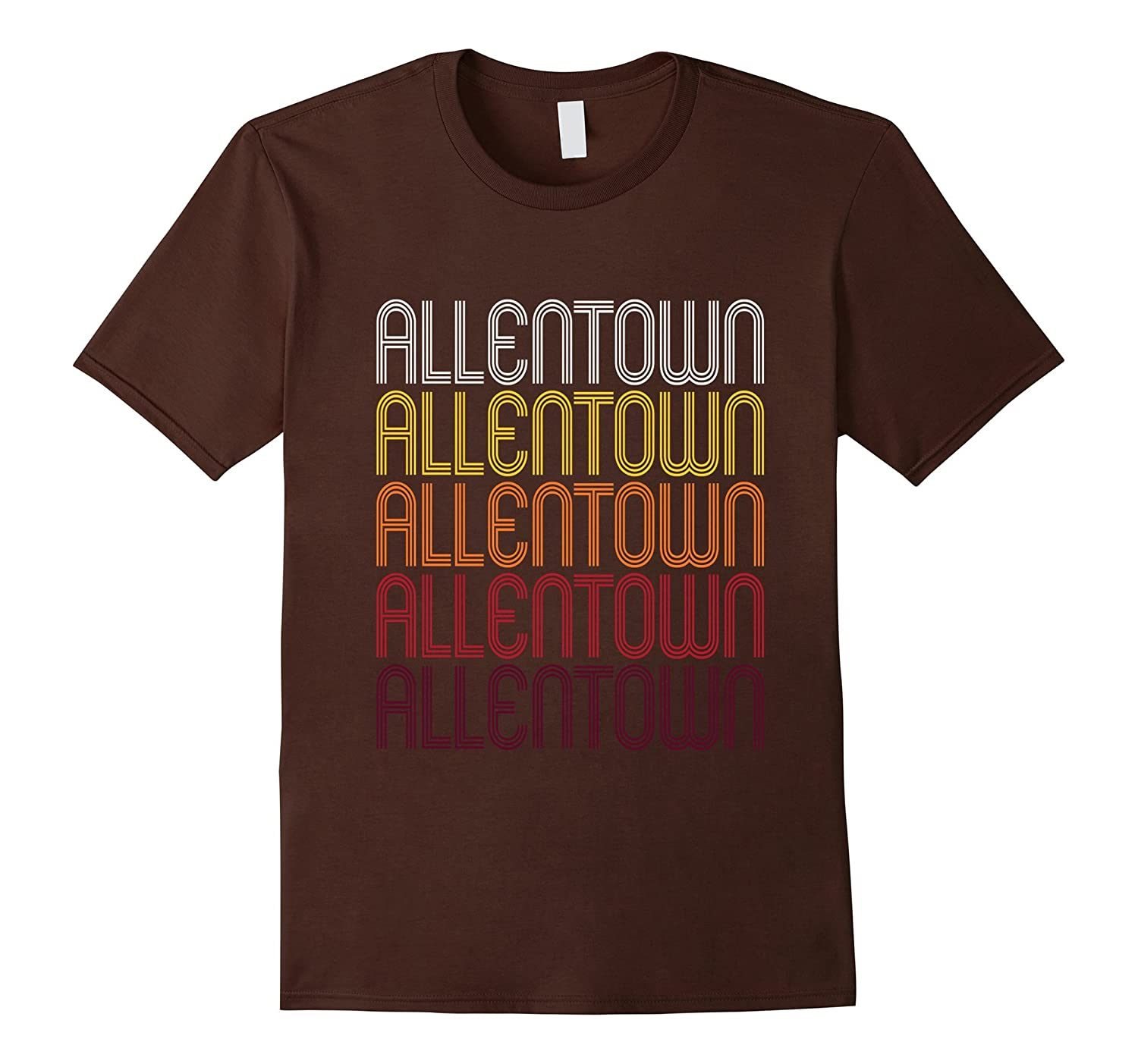 Allentown PA  Vintage Style Pennsylvania T-shirt-TH