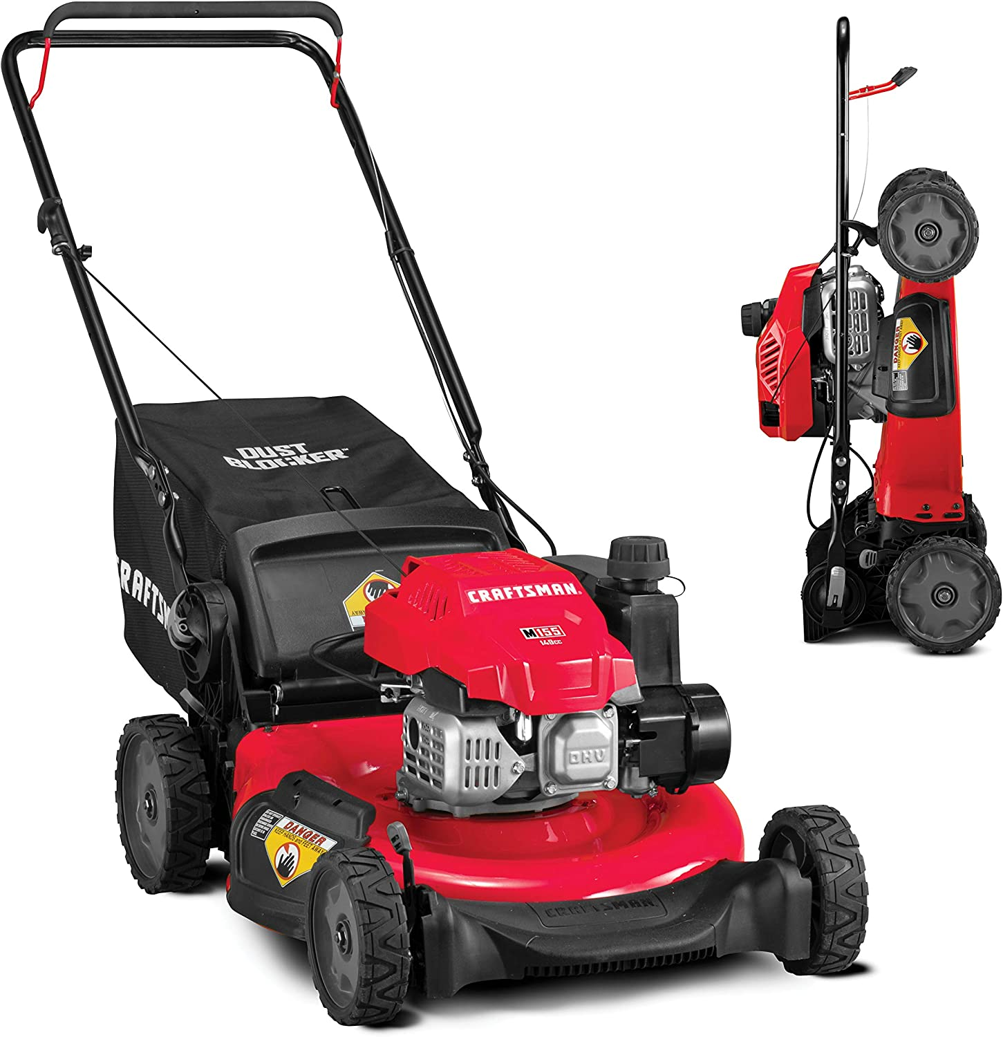 CRAFTSMAN 3-in-1 149cc Engine Gas Powered Push Lawn Mower