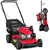 CRAFTSMAN 11A-U2V2791 3-in-1 149cc Engine Gas Powered Push Lawn Mower with Vertical Storage - Contractable Mower for Ease of
