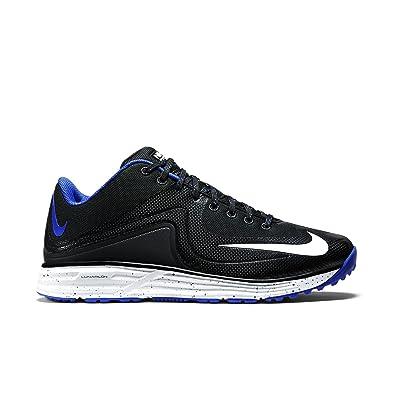 0bb6a5a42baf Nike Men's Lunar MVP Pregame 2 Baseball Training Shoe Black/Rush Blue Size  11 M