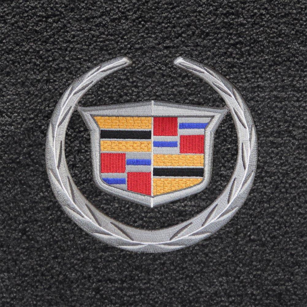 Cadillac Crest /& Wreath Logo Lloyd Mats 600038 2007-2014 Escalade ESV Ebony Ultimat Front Floor Mats