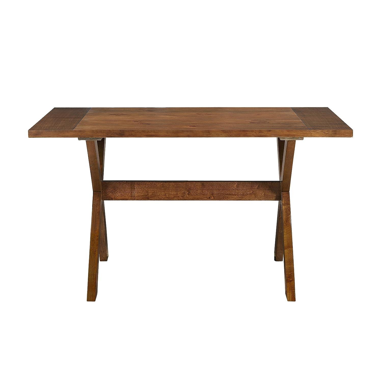 Amazon Dorel Living Multi Functional Dining Table Dark Pine