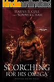 Scorching for His Omega: A Non-shifter Superhero Alpha/Omega Mpreg Romance (The Elemental Omegas Book 1)