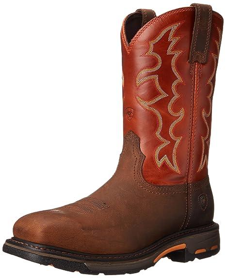 d16e2720a54 ARIAT Men's Workhog Steel Toe Work Boot