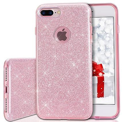 iphone 7 case rose gold glitter