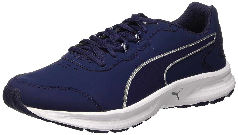 Puma Descendant V4 SL Sneaker Azul Size: 42 42|Peacoat/Argento