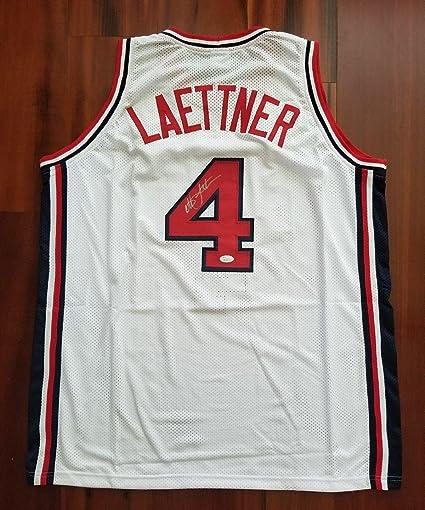 78c26f422269 Christian Laettner Autographed Jersey - Team Dream Team - JSA Certified - Autographed  College Jerseys