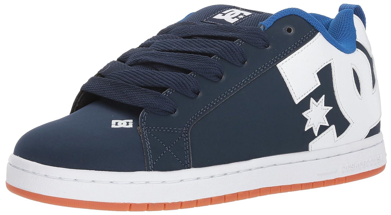 DC Men's Court Graffik Skate Shoe 11.5 D(M) US|Navy/Royal