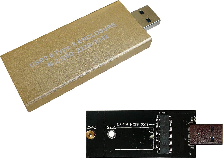 KALEA-INFORMATIQUE-Llave USB ©-Caja para disco duro de M2 en USB3 (USB) 3,0, SATA para SSD M2, o 2242 2230: Amazon.es: Electrónica