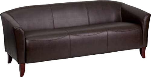 Flash Furniture HERCULES Imperial Series Brown LeatherSoft Sofa