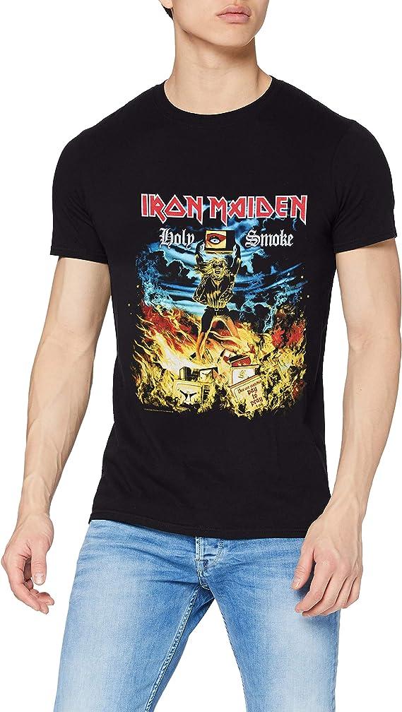 Rockoff Trade Holy Smoke Camiseta para Hombre