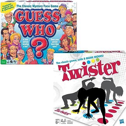 Maven Gifts: Juego de Mesa Guess Who y Twister: Amazon.es: Juguetes y juegos