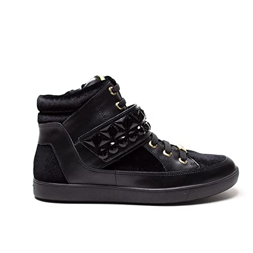 LIU JO mujer zapatillas de deporte de alto GERANIO S66021 P0169 36 Nero