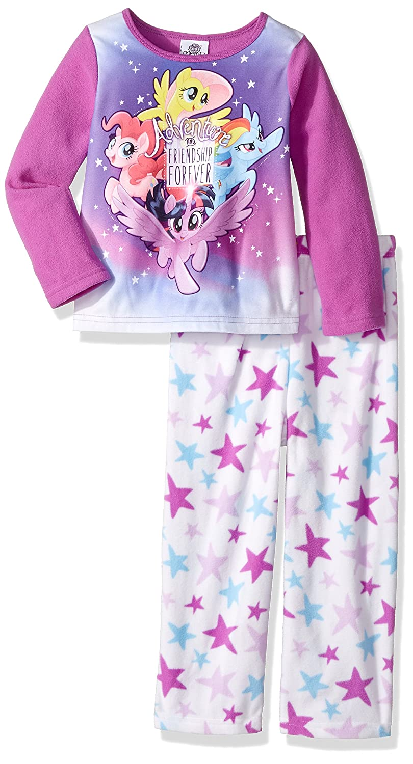 My Little Pony girls 2-piece Fleece Pajama Set My Little Pony MLTLLF